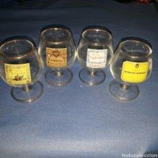 Coleccionismo Otros Botellas y Bebidas: COLECION 4 COPAS LICORES. Lote 99470370
