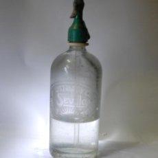Coleccionismo Otros Botellas y Bebidas: SIFÓN INDUSTRIAL SEVILLA. Lote 99967743