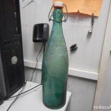 Coleccionismo Otros Botellas y Bebidas: BOTELLA GASEOSA FAMILIAR EN CULO VIUDA S VILELLA. Lote 100198407