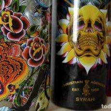 Coleccionismo Otros Botellas y Bebidas: BOTELLAS DECORACIÓN VINO EDICIÓN LIMITADA CHRISTIAN AUDIGIER. Lote 100397207