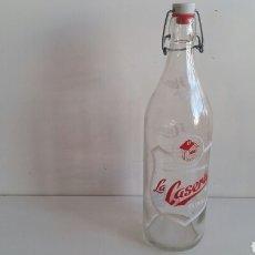 Coleccionismo Otros Botellas y Bebidas: (SEVILLA) BOTELLA CRISTAL LA CASERA - 60° ANIVERSARIO. Lote 101256964