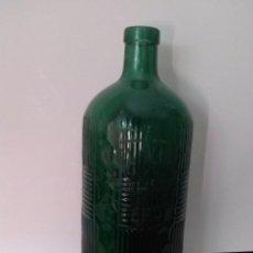 Coleccionismo Otros Botellas y Bebidas: BOTELLA DE CRISTAL FABRICA DE GASEOSAS MANUEL NARVAEZ 1900 ESTEPONA. Lote 101563619