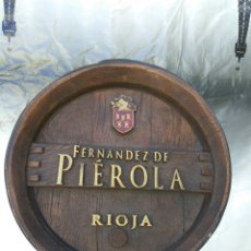 Coleccionismo Otros Botellas y Bebidas: VINO RIOJA FERNANDEZ DE PIEROLA FRONTAL BARRIL.NUEVO. Lote 101748839
