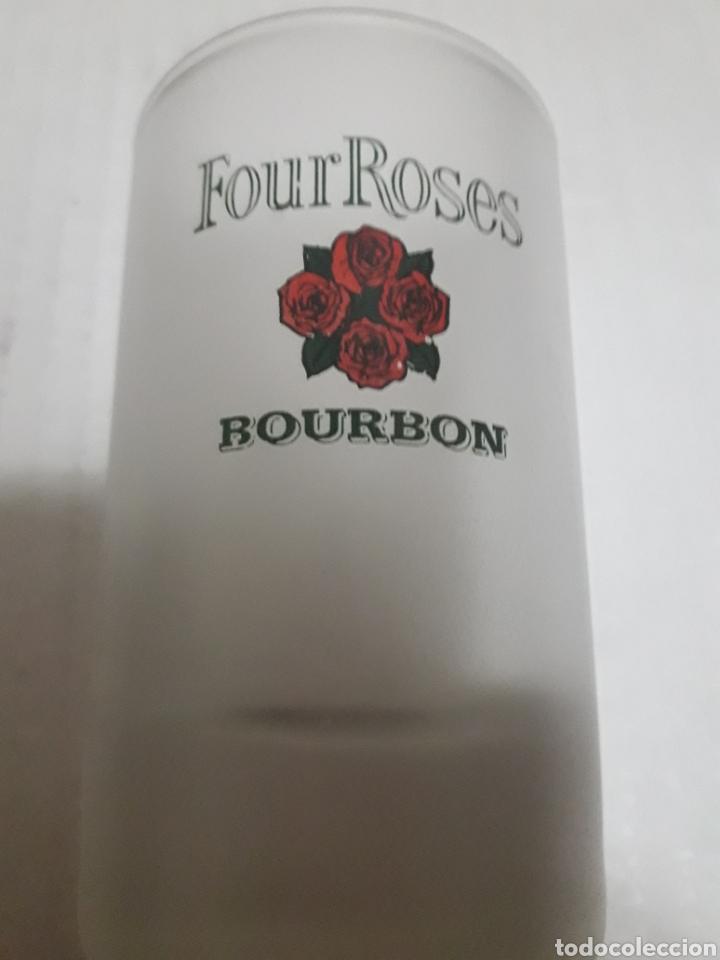 ANTIGUO VASO CALICHE FOUR ROSES BOURBON (Coleccionismo - Otras Botellas y Bebidas )