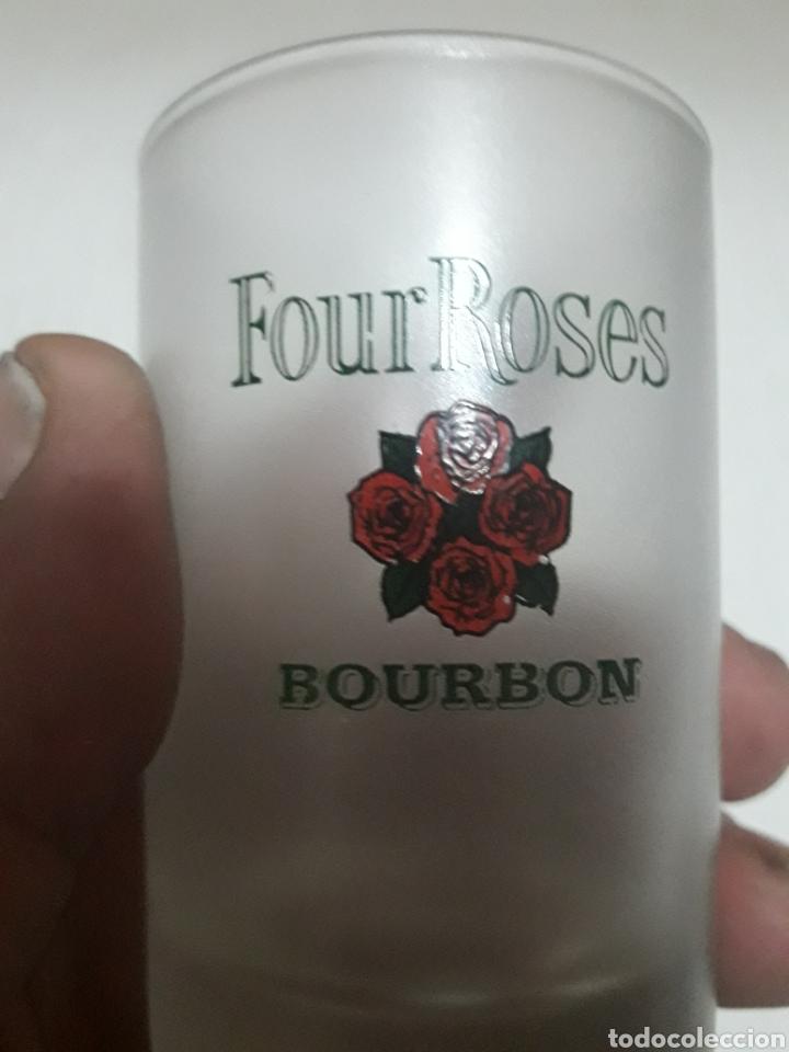 Coleccionismo Otros Botellas y Bebidas: Antiguo vaso Caliche Four Roses Bourbon - Foto 4 - 101940232