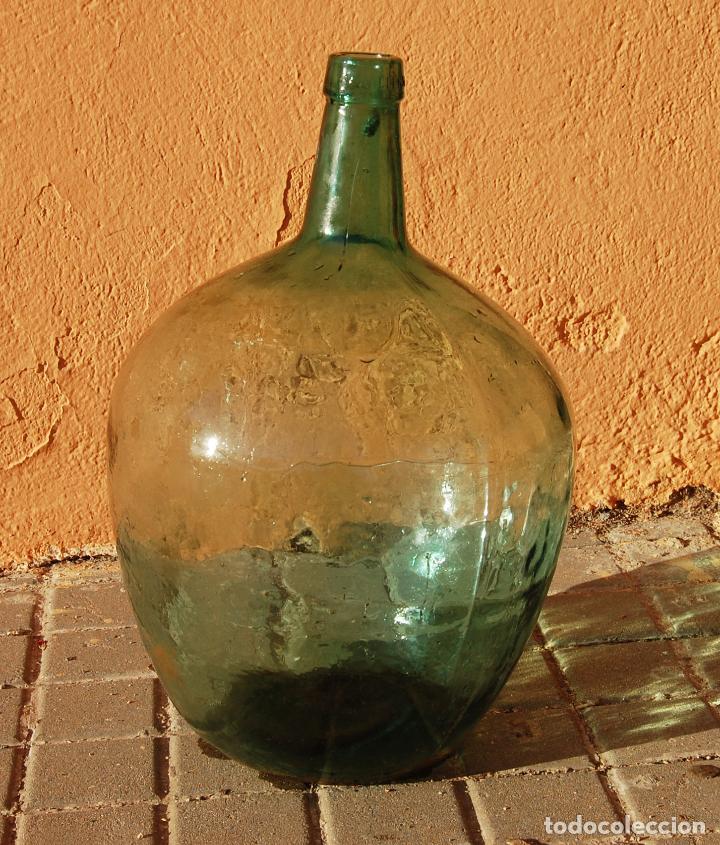 DAMAJUANA GARRAFA DE CRISTAL 20 LITROS MARCA AYALENSE (Coleccionismo - Otras Botellas y Bebidas )