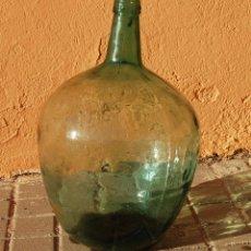 Coleccionismo Otros Botellas y Bebidas: DAMAJUANA GARRAFA DE CRISTAL 20 LITROS MARCA AYALENSE. Lote 102117307