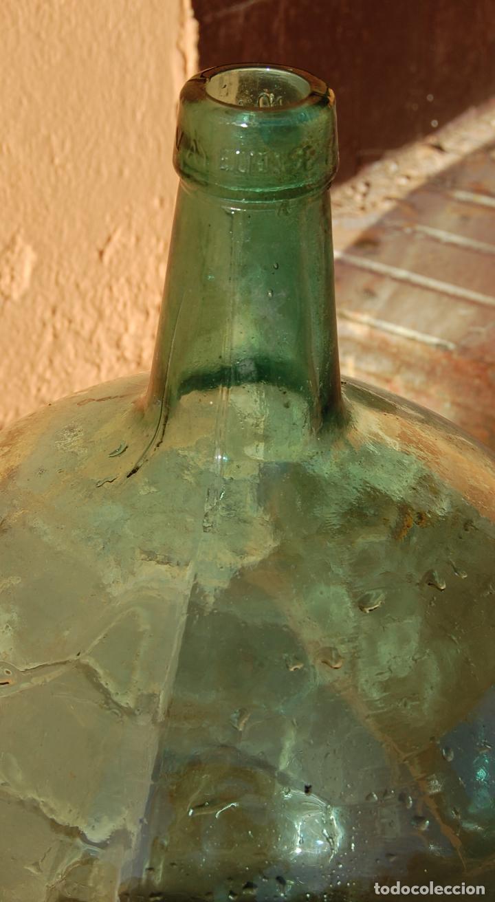 Coleccionismo Otros Botellas y Bebidas: DAMAJUANA GARRAFA DE CRISTAL 20 LITROS MARCA AYALENSE - Foto 2 - 102117307