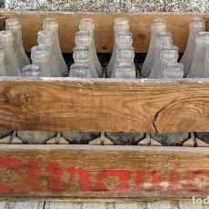 Coleccionismo Otros Botellas y Bebidas: ANTIGUA Y PRECIOSA CAJA DE MADERA DE CITRANIA - LA BEBIDA DE ESPAÑA - GASEOSA LIMONADA NARANAJDA - C. Lote 102278743