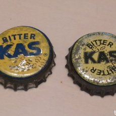 Coleccionismo Otros Botellas y Bebidas: LOTE CHAPAS BITTER KAS. TAPON CORONA CHAPA BOTTLE CAP KRONKORKEN TAPPI CAPSULE. Lote 103346383
