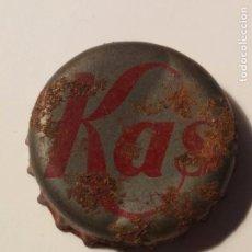 Coleccionismo Otros Botellas y Bebidas: CHAPA KAS. Lote 105083583