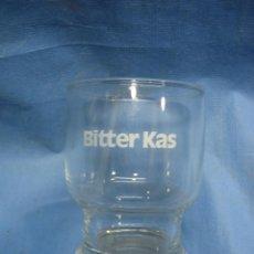 Coleccionismo Otros Botellas y Bebidas: ANTIGUO VASO BÍTTER KAS. Lote 105344535