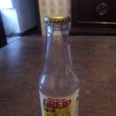 Coleccionismo Otros Botellas y Bebidas: BOTELLA Y CHAPA MOSTO GREIP. Lote 105726410