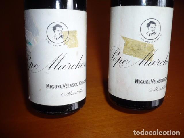 Coleccionismo Otros Botellas y Bebidas: BOTELLAS DE VINO COLECCIÓN MONTILLA PEQUEÑAS - Foto 2 - 105868327