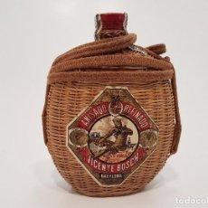 Coleccionismo Otros Botellas y Bebidas: CURIOSA GARRAFA ANIS DEL MONO, ENVASE PARA COLGAR (PRECINTADO). Lote 106068771