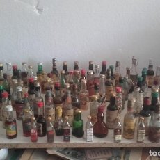 Coleccionismo Otros Botellas y Bebidas: LOTE DE 92 BOTELLITAS DE PROPAGANDA- SOLO 5 SIN LICOR Y 2 SIN ETIQUETA. Lote 106620807