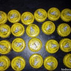 Coleccionismo Otros Botellas y Bebidas: LOTE 20 CHAPA CORONA TAPON EN ARABE HAMOUD BOUALEM, TIPICO REFRESCOS ARGELINO. Lote 107802726