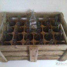 Coleccionismo Otros Botellas y Bebidas: ESPECTACULAR CAJA CON 24 BOTELLAS DE GASEOSA HOBARES. DELICIOSA EN TODO TIEMPO. . Lote 108238999