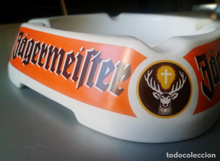 JAGERMEISTER CENICERO PORCELANA ASHTRAY CERAMIC GOEBEL WEST GERMANY (Coleccionismo - Otras Botellas y Bebidas )