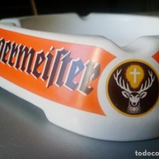 Coleccionismo Otros Botellas y Bebidas: JAGERMEISTER CENICERO PORCELANA ASHTRAY CERAMIC GOEBEL WEST GERMANY . Lote 108865863