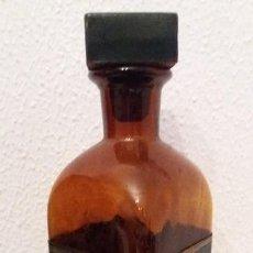 Coleccionismo Otros Botellas y Bebidas: BOTELLA CRISTAL OSCURO PARA VINO TINTO. Lote 109305139