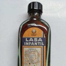Coleccionismo Otros Botellas y Bebidas: BOTELLITA DE LASA INFANTIL - LABORATORIOS LASA. Lote 110239335