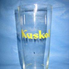 Coleccionismo Otros Botellas y Bebidas: ANTIGUO VASO DE REFRESCO KASKOL. Lote 110789571