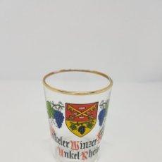 Coleccionismo Otros Botellas y Bebidas: VASO UNKEL RHEIN GLASS VINO WINE WEIN ALEMANIA GERMAN VINTAGE ANTIGUO COLECCION. Lote 111505435