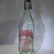 Coleccionismo Otros Botellas y Bebidas: BOTELLA DE GASEOSA ALBERTE DE ARNOYA. Lote 111522647
