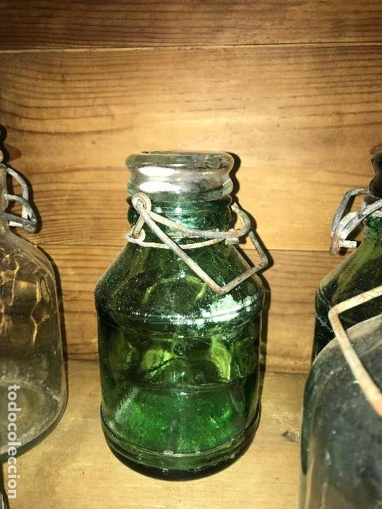 Coleccionismo Otros Botellas y Bebidas: Botellas cristal leche condensada - Foto 9 - 111998259