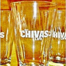 Coleccionismo Otros Botellas y Bebidas: LOTE 4 VASOS CHIVAS LIFE. Lote 112683963