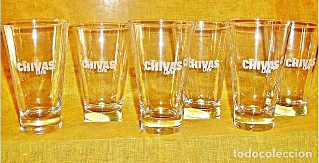 Coleccionismo Otros Botellas y Bebidas: LOTE 4 VASOS CHIVAS LIFE - Foto 2 - 112683963