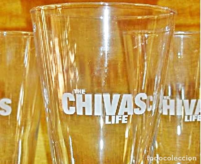 Coleccionismo Otros Botellas y Bebidas: LOTE 4 VASOS CHIVAS LIFE - Foto 4 - 112683963