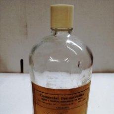 Coleccionismo Otros Botellas y Bebidas: BOTELLA DE FARMACIA.COMERCIAL FARMACEUTICA DE LOGROÑO.LA RIOJA. Lote 113612987