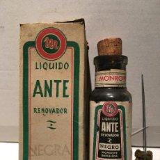 Coleccionismo Otros Botellas y Bebidas: ANTIGUO FRESCO DE TINTE RENOVADOR ANTE AÑOS 50. Lote 221714105