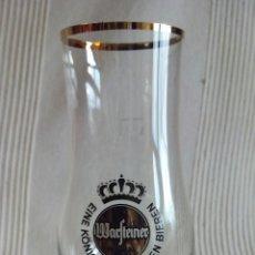 Coleccionismo Otros Botellas y Bebidas: COPA CERVEZA WARFTEINER - DE CRISTAL. Lote 115611443