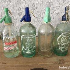 Coleccionismo Otros Botellas y Bebidas: SIFONES LOTE DE 4. Lote 116127855
