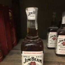 Coleccionismo Otros Botellas y Bebidas: BOTELLA ANTIGUA BOURBON JIM BEAM. Lote 246143370