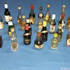 Coleccionismo Otros Botellas y Bebidas: LOTE DE 26 ANTIGUOS BOTELLINES CERRADOS. Lote 117062104