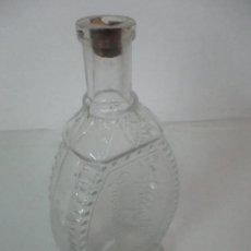 Coleccionismo Otros Botellas y Bebidas: ANTIGUA BOTELLA, FRASCO MODERNISTA - CRISTAL - PURGANTE VEGETALIN - FARMACIA - AÑOS 70. Lote 117793343