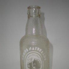 Coleccionismo Otros Botellas y Bebidas: BOTELLA REFRESCO *DIANA* ZUMOS NATURALES, SERIGRAFIA BLANCA. Lote 120343919