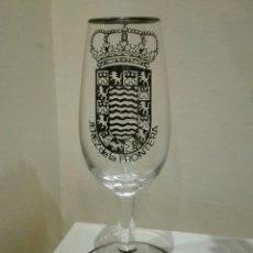 Coleccionismo Otros Botellas y Bebidas: CATAVINO O COPA CON GRAN ESCUDO DE JEREZ DE LA FRONTERA. Lote 120848671