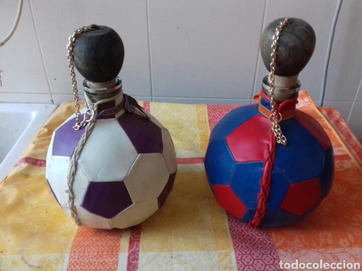 Coleccionismo Otros Botellas y Bebidas: Botellas futbol - Foto 2 - 120960784