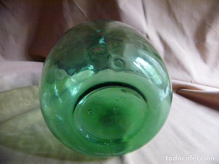 Coleccionismo Otros Botellas y Bebidas: Botella garrafa garrafon de cristal Viresa 8 Litros Damajuana - 36 centimetros - Foto 3 - 121141555