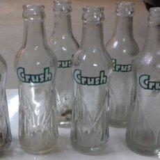 Coleccionismo Otros Botellas y Bebidas: BOTELLAS REFRESCOS CRUSH. Lote 121731854