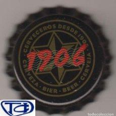 Coleccionismo Otros Botellas y Bebidas: CHAPA CERVEZA ESTRELLA GALICIA 1906 TAPÓN CORONA KRONKORKEN TAPPI BEER BIRRA BIER CERVEJA PIVO BIRA. Lote 255453870