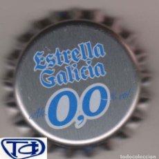Coleccionismo Otros Botellas y Bebidas: CHAPA CERVEZA ESTRELLA GALICIA 0,0 TAPÓN CORONA KRONKORKEN TAPPI BEER BIRRA BIER CERVEJA PIVO BIRA. Lote 222172310