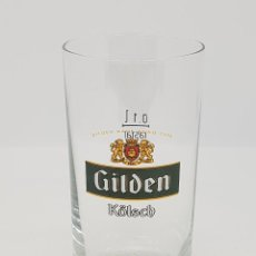 Coleccionismo Otros Botellas y Bebidas: VASO CERVEZA GILDEN KÖLSCH ALEMANIA GERMAN GLASS BEER CERVEJA BIRRA BIER BIERE VINTAGE 0,1L. Lote 191066900