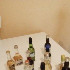 Coleccionismo Otros Botellas y Bebidas: LOTE DE 12 BOTELLITAS CHICAS DE VINO ETC VER FOTOS. Lote 124026911
