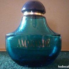 Coleccionismo Otros Botellas y Bebidas: BOTELLA VACÍA COLONIA AMARANDE - 50 ML.. Lote 125373019
